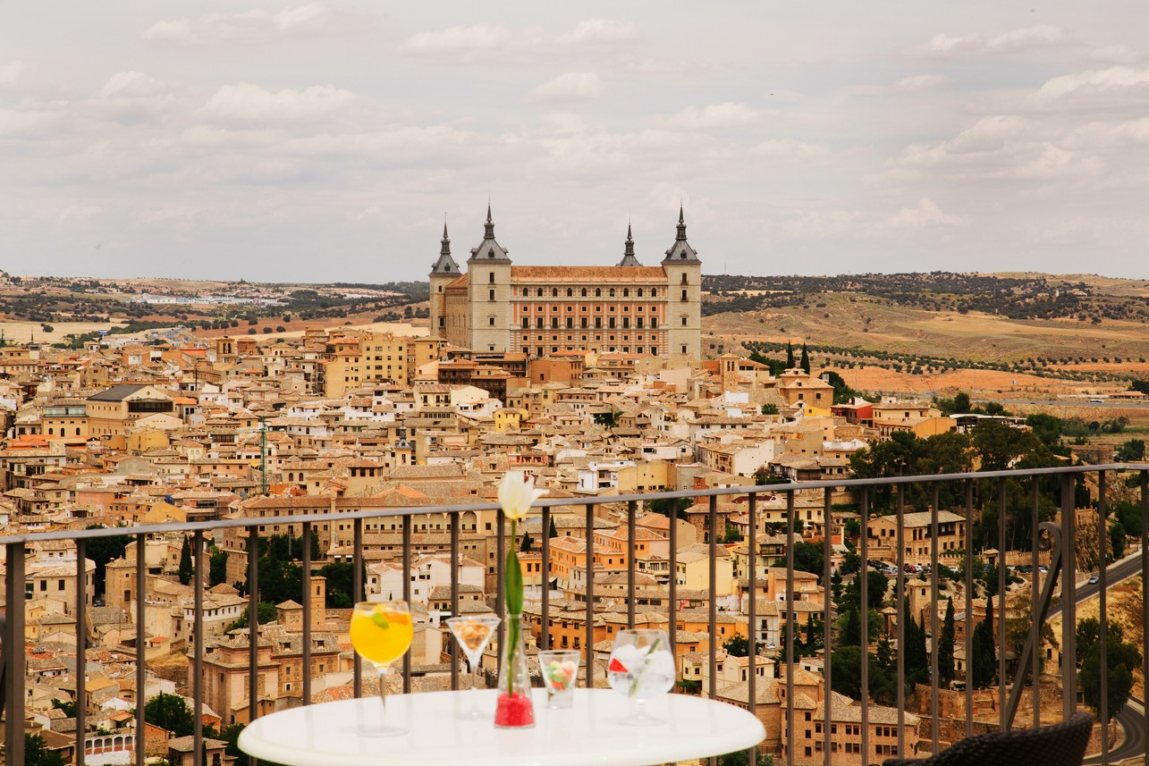 Views from the Parador de Toledo